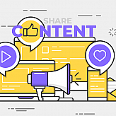 Curate content infographic