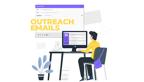 Outreach emails