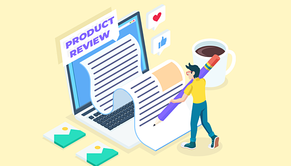 Write affiliate product reviews