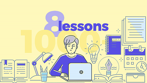 8 Lessons I've Learned from Writing 1000+ Blog Posts