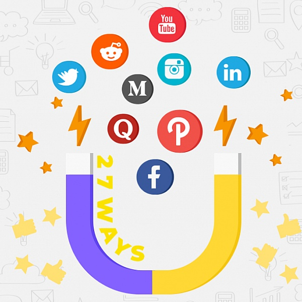 27 Ways To Drive Traffic From 9 Top Social Media Platforms