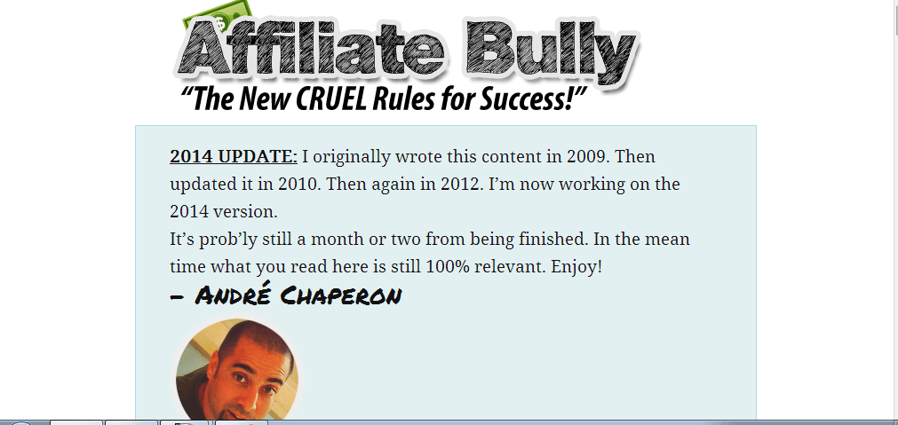 affiliate bully