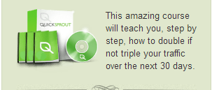 quick sprout course