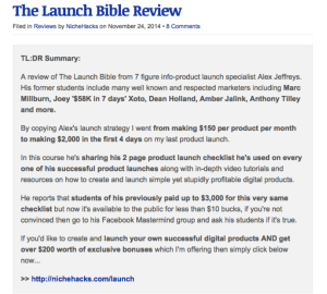 launch bible review