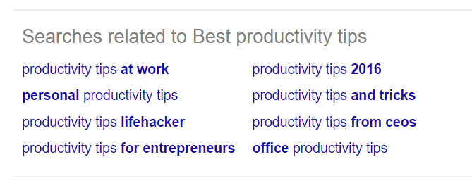 best-productivity