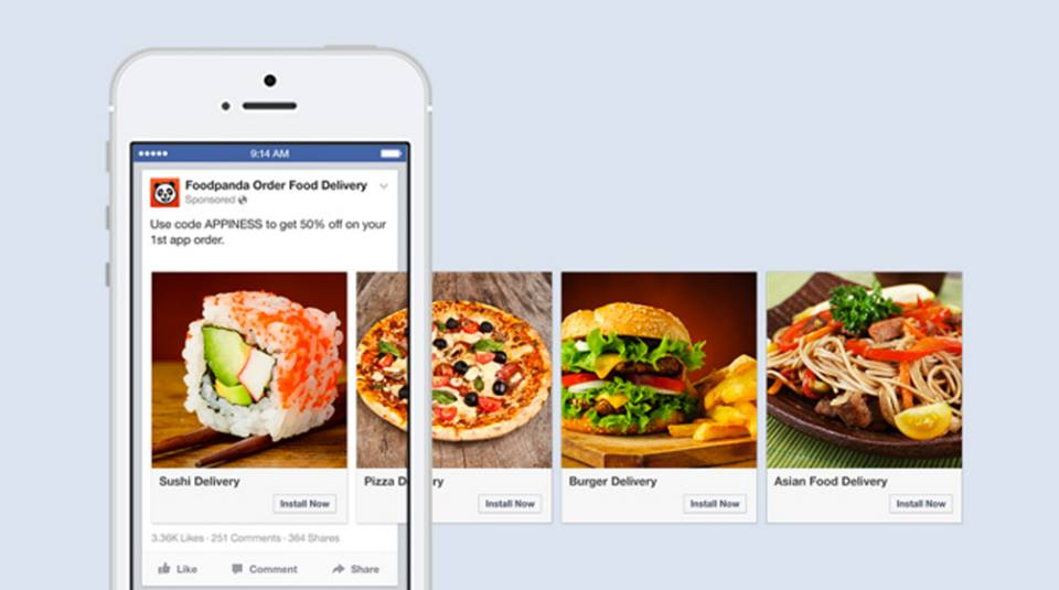 1. Foodpanda increased click-through rates by 180% and reduced their cost per install by 39%.