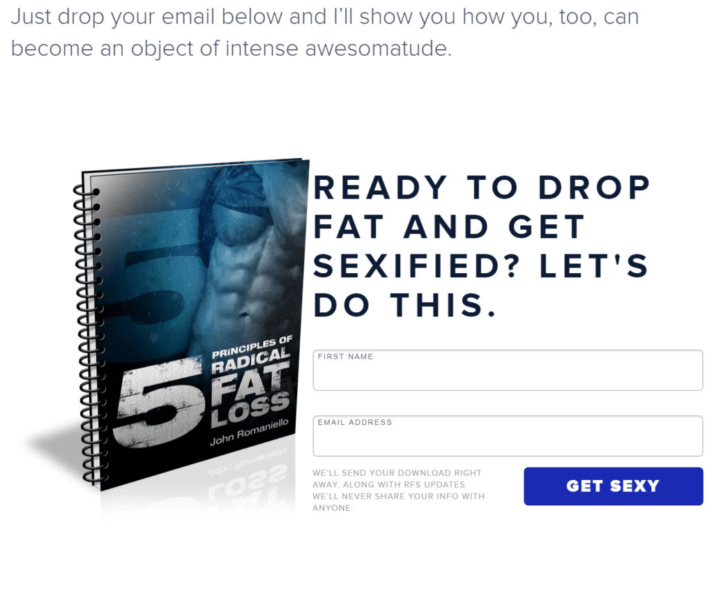 fat loss ebook