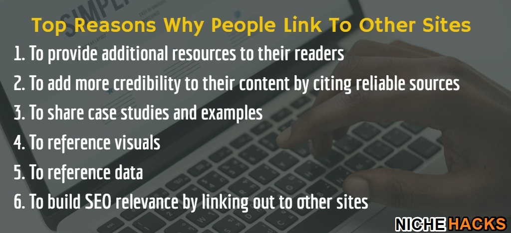 Why SEO people use outgoing links to other sites