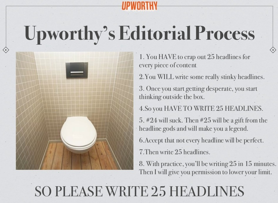 upworthy headline policy