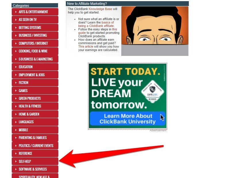 clickbank affiiate products1