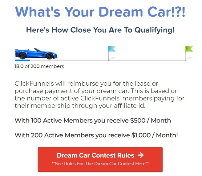 clickfunnels dream car2