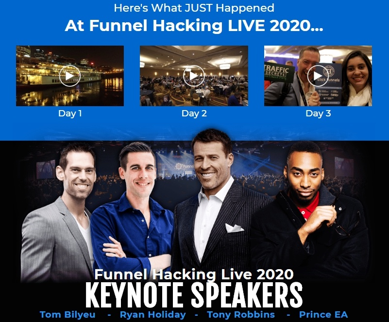 funnel hacking live 2020