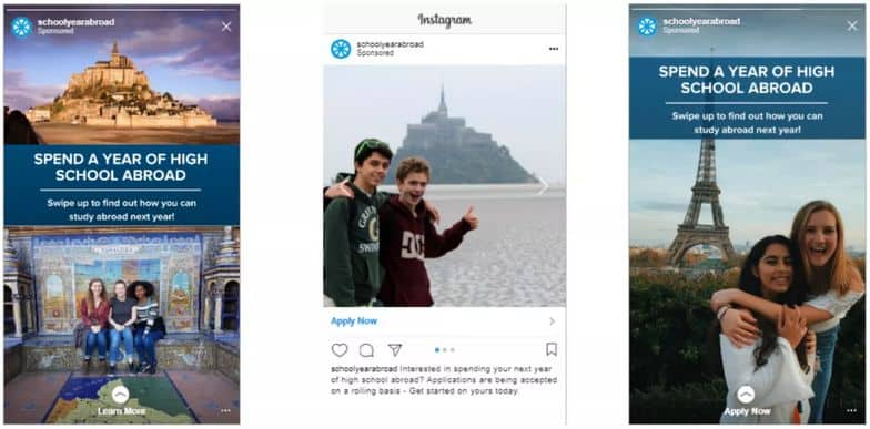 school year abroad instagram