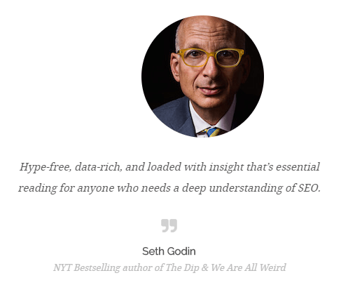 seth godin testimonial - the art of seo