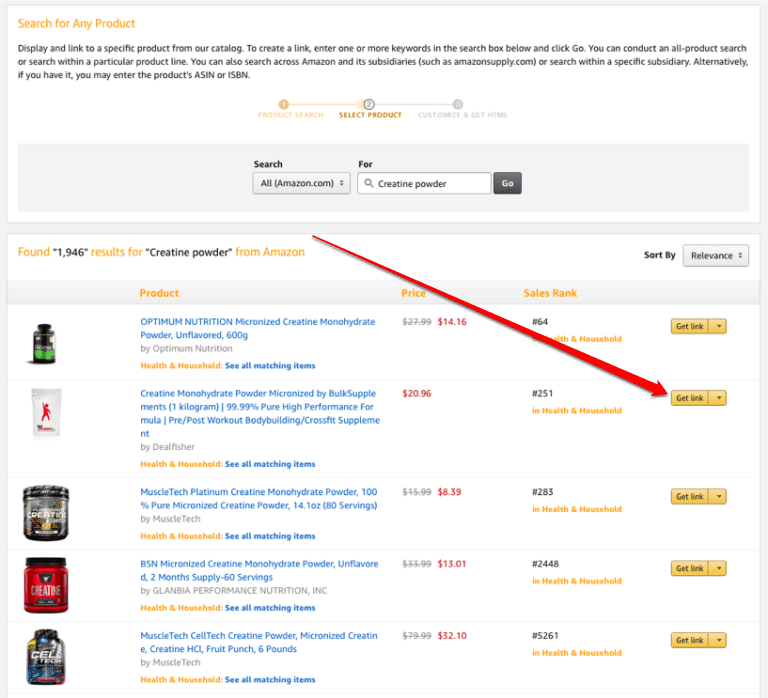 amazon associates product linking3