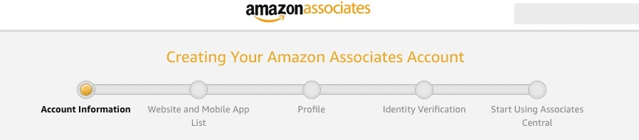 amazon associates sign up process1
