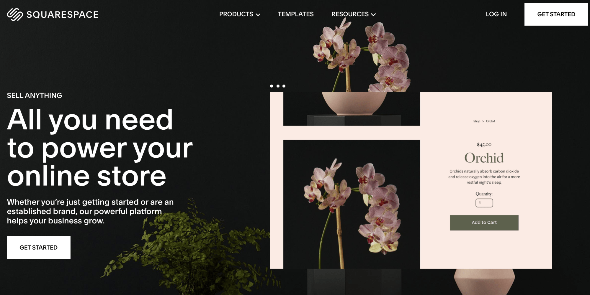 ecommerce tool squarespace